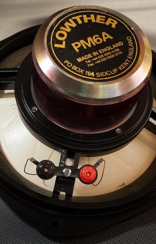 Der Kobalt Magnet eines Lowther Lautsprecher